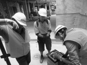 Reviewing details with principal contractor ensures work meets design and performance.